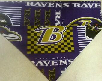 SALE! Baltimore Ravens Dog Bandana