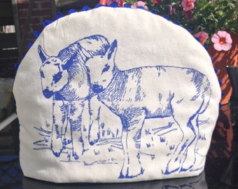Dartmoor 'Little Lambs' Original Screen Printed Tea Cosy