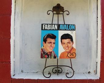 Fabian. Frankie Avalon. Rare Mono VINYL Record Album. CHL-5009 Mono LP