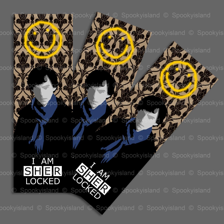 chibi bbc sherlock bookmarks - photo #35
