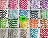 50 PAPER STRAWS USA Seller Pick/Mix Any Colors Striped Paper Straws Chevron Polka Dot Drinking Straws Wedding Birthday Baby Shower Mason Jar