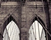 Brooklyn Bridge art, brooklyn bridge print, brooklyn bridge photo, new york art, new york print, new york photography, sepia photography