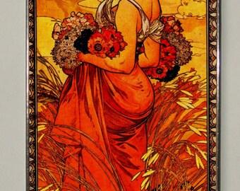 Alphonse Mucha, Summer.