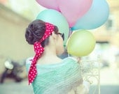 lightweight shawl - valentine's gift - womens summer shawl - mint taupe shawl - pastel clothing - soft shawl