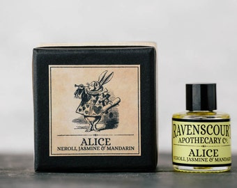 Oil Fragrance 'Alice' - Neroli, Jasmine & Mandarin  Oil Perfume. 10 ml