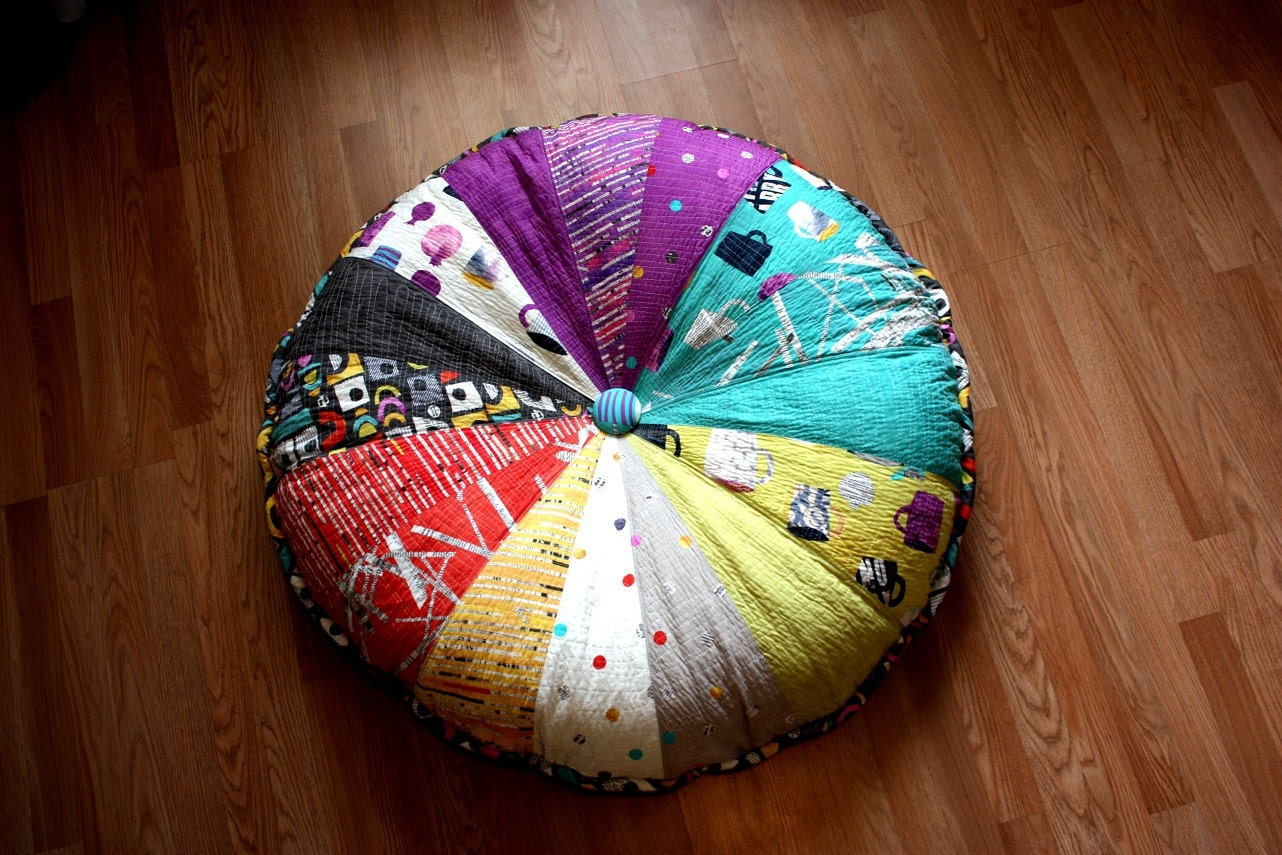 Washable 40 Enormous Pouf Giant Floor Cushion 102 cm