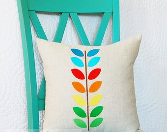 Technicolor Vine - Machine Embroidery Design