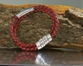 Personalized Bracelet. Mens Leather Bracelet, leather bracelet for men. Engraved bracelet. leather bracelets. Personalized jewelry