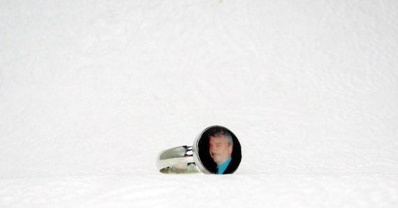 Sterling Silver Photo Ring - C3Ri