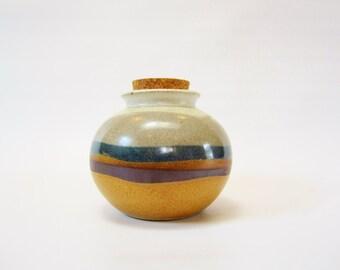 Vintage MODERN Japanese Pottery Vase Jug Crock OTAGIRI 80s