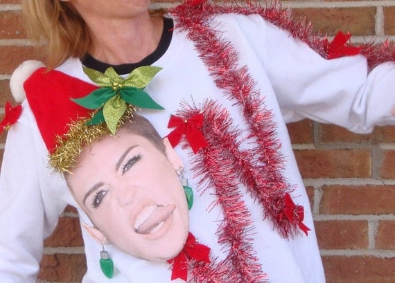 Miley's Tongue On A Crew-Neck Is Just The Beginning Of Our Ugly ...