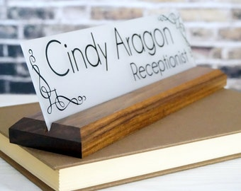 """Shop """"personalized wood signs"""" in Office"""