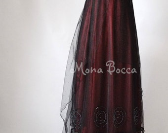 Titanic Rose Jump Dress Regency dress Handmade in England by Mona Bocca