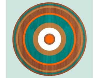 Spin on Walnut No. 2