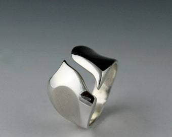 Sterling Silver Canyon Ring