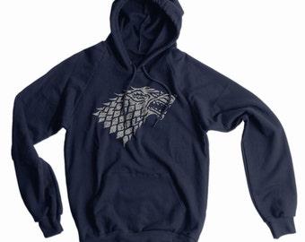 Stark Sigil American Apparel Pullover Hoodie