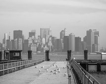 Black and White photography, fine art photography, lnew york skyline,new york poster,new york art,new york print,living room decor,nyc photo