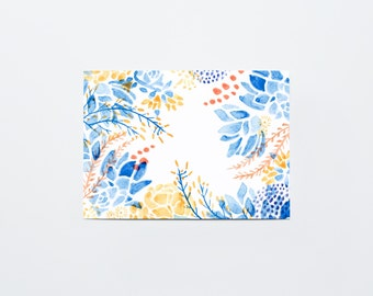 Watercolor Cactus Postcard Set