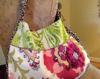 Deluxe upholstery fabric handbag!