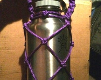 Paracord hydroflask holder