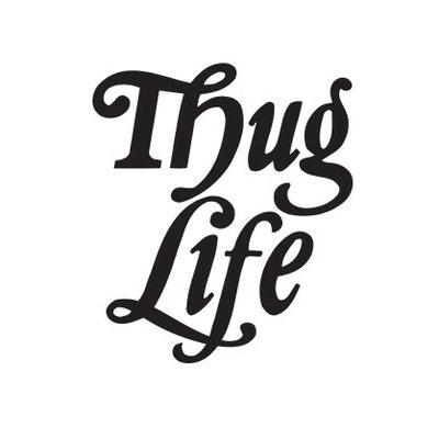 Thug Life Thug Life on Etsy