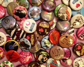 Button Grab Bag - 30 Random 1-inch Pinback Buttons