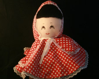 Little Red Riding Hood Soft Puppet/Doll - FREE SHIPPING in the US!