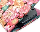 Kindle Paperwhite cover - Sweet Garden - Asian floral - pink and teal Kindle Touch cover - hardcover eReader case - pretty kindle cover