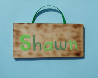 Shawn name sign