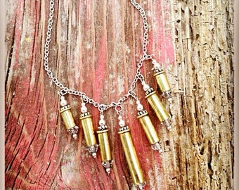 22 Ammo Dangle Necklace