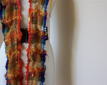 Random %03, Everyday Scarf handwoven and felted by me