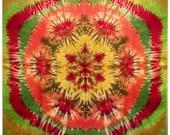Falling Leaf--30x30 Silk Square--Waldorf-Inspired Playsilk