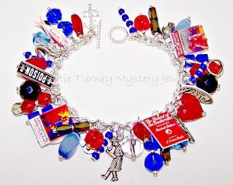 I LOVE SHERLOCK Artisanal Charm Bracelet