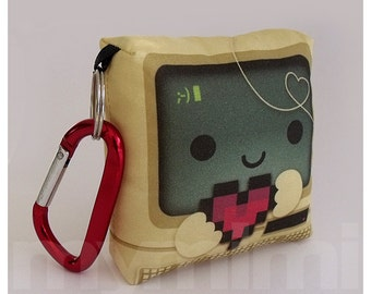 Toy Keychain, Computer Pillow, Kawaii Toy, Backpack Charm, Kids Toys, Party Favor, Nerdy Gift