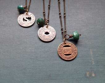 In Transit necklace