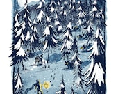 Winter is Coming - Mini Art Print