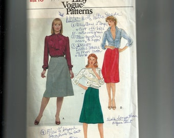 Vogue Misses' Skirt Pattern 7723