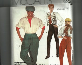 McCall's Misses' Pants for Stretch Knits Only Pattern 2077