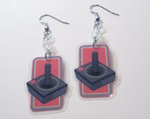 Old School Joystick Earrings