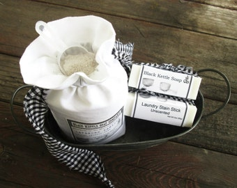 Laundry Soap try LAVENDER & VANILLA... Black Kettle