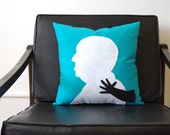 Alfred Hitchcock Decorative Pillow