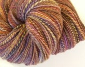 Calypso - Hand spun polwarth and silk yarn