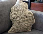 Michigan Lower Peninsula  Pillow