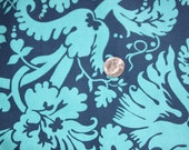 Amy Butler Belle Line - Acanthus Turquoise - quilt weight fabric - 1 full yard