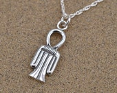Tyet Amulet Pendant Necklace - Sterling Silver
