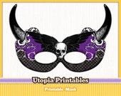 Gothic Halloween Masquerade Mask