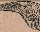 bird Wing   rubber stamps place cards gifts  number 6298  unmounted, mounted or cling stamp