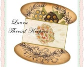 Laura Lace or thread Keepers Instant Download
