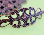 Clearance 20pcs 65mm Antique Copper Filigree Wraps A-102R