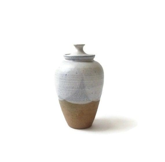 Mid Century Ceramic Lidded Jar by Lois Edgar